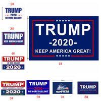 도널드 트럼프 깃발 멀티 스타일 2020 트럼프 국기 미국의 위대한 도널드 대통령 캠페인 배너 정원 플래그를 유지 90 * 150cm BWF844