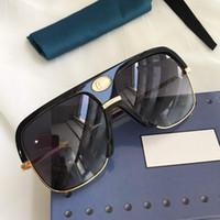 lunettes de soleil 0478S pour les femmes et les hommes unisexes demi-image Traitement des lentilles 0478 masque lunettes de soleil jambes en fibre de carbone d'été classique style