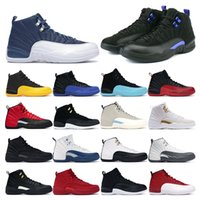 air retro 12    FIBA ​​Game Royal Winterize Gym Rosso Michigan Bordeaux 12 The Master Flu Game Taxi sneaker sportive misura 7-13