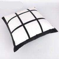Diy fronha Mat Nine Grids Sublimação Blanks Almofada personalizado de transferência de calor Pad Covers mangas pillowslip Início Cars 10 5kr C2