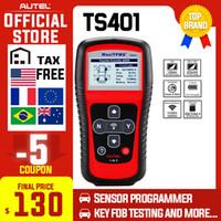 Autel TS401 TPMS diagnóstico ferramenta de cópia ID 315MHz 433MHz Activation Sensor Programação Mx-Sensor MaxiTPMS Tire Pressure Tester