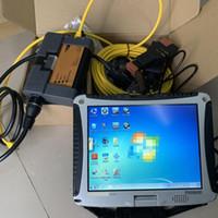 ICOM次のA2 + B + C V09 / 2020 + C V09 / 2020ソフトウェアISTA-D 4.24 ISTA-P 3.67 INPA 1TB HDDエキスパートモード中古ラップトップCF19 CF-19