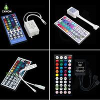 RGB LED Controller DC5-12V 24 keekys 40KEYS 44KEYS MUSIC MINI ИК-контроллер для 5050 3528 RGB светодиодный светильник