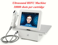 NEW portable MINI HIFU Maschine 10000 Shots hohe Intensität fokussierter Ultraschall HIFU Facelifting Körperhaut Hubmaschine Falten entfernen Schönheit