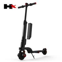250W Faltbare leichte Smart Mächtige Heiße Verkäufe Zwei Räder Vorderer Gabel Elektrischer Roller mit austauschbarer Batterie