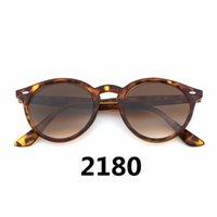 Neue Arrial Frauen Sonnenbrillen Herren Designer-Sonnenbrillen Glasobjektiv Scharnier Metall Runde Sun Retro Brille Goggle mit Box und Case
