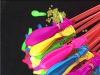 2020 sıcak satış yüksek kaliteli tek renkli balonlar, su dolu balonlar, hızlı su dolu balonlar, özelleştirilmiş su balonları tedarik