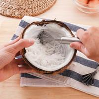 Noix de coco en acier inoxydable rasoir cuisine gadgets de cuisine outils de fruits suspendus accessoires de fruits de mer de fruits de mer multifonction poisson nettoyer des outils