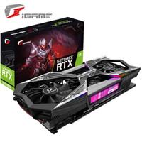 Красочная семь графика iGame GeForce 2060 SUPER RTX Vulcan X OC GPU карточная игра есть дизайн курицы
