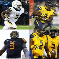 Custom Toledo Football Jersey NCAA College Diontae Johnson Logan Woodside Eli Peters Carter Bradley Shakif Seymour Mitchell Guadagni