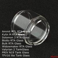 Yağ Genişletmek Yedek Ampul Cam Tüp Ammit MTL Kylin M Solomon 3 Blotto Toplu Bidowmaker RTA Valyrian 2 Priv N19 TFV16 Lite Tankı DHL