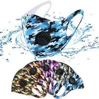 Breath Geniş sapanlar Yıkanabilir Yeniden kullanılabilir Kül Respiratörü ile Stok Unisex Sünger Karşıtı Toz Maskeleri PM2.5 Kirliliği Yarım Yüz Ağız Maskesi