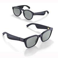 Occhiali intelligenti di moda di alta qualità 2 in 1 occhiali da sole audio con cuffia auricolare Bluetooth wireless auricolare