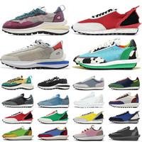 Daybreak LDV Waffle Chunky Dunky Spor Ayakkabı Üçlü Beyaz Naylon Oyun Kraliyet Womens Moda Eğitmenler Blazer Sneakers Ayakkabı 36-45 Koşu