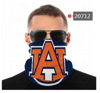 Maschere NCAA Auburn Tigers senza saldatura Buff Sciarpa Shield Bandana viso Protezione UV per il motociclo in bicicletta riding Cerchietti
