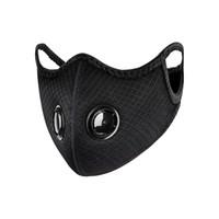 Ciclismo máscara facial ativado Anti-Poluição do esporte que funciona Proteção Formação Poeira máscara de poeira à prova de Máscaras Boca Máscaras Proteção arte ao ar livre