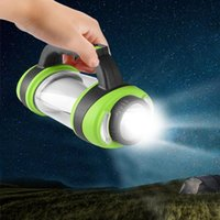 Multi-funzione Luce ricaricabile a LED campeggio USB Luce tenuta in mano portatile COB ha condotto il lavoro per Outdoor Barbecue lampada di campeggio