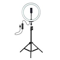 PULUZ Photography Dimmable LED Selfies Ring Light Vlogging P...