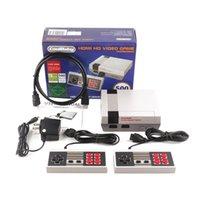 HDMI OUT 레트로 클래식 게임 플레이어 내장 600 게임 콘솔 비디오 핸드 헬드 MES 게임 콘솔로 소매 상자
