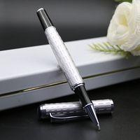Бесплатная доставка Roller Pen школа черного цвета супер качества, канцелярские принадлежности Promotion Канцтовары Марка ручка-роллер ручка подарка хорошая