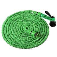7.5-45M erweiterbar magischer flexibler Gartenschlauch Kunststoff-Spritzpistole Garten-Yard-Schlauch Schlauch Außenpistole