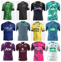 Novo 2020 2021 Chiefss Maori Blues Hurricanes Crusaders Highlanders Super Rugby Jersey 20 21 Zelândia Rugby camisetas Top Quality