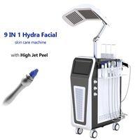 9 in 1 Hydrafacial MD 기계 수력 Dermabrasion 피부 클렌징 얼굴 회춘 미세 박피술 장비 Hydra Facial Blackheads