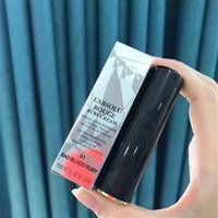 En Kaliteli L'Absolu Rouge Yakut Krem Ruj Metal Tüp Ultra-Pigmentli Uzun Ömürlü Lipcolor 5 Renk