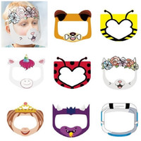 PET Kids Cartoon Face Shield Safety Chidren Protective Mask ...