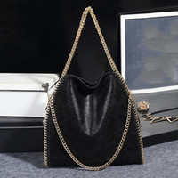 2020 nuova catena femminile del sacchetto solido di colore pieghevole di marea Borsa a tracolla femminile pacchetto Pu Matte Borse di cuoio da donna di lusso del sacchetto del progettista Borse
