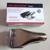 Neue SIM-Karte Cutter Werkzeug-Maschine Micro Nano All in One 3 in 1 Micro-SIM-Adapter zu Nanosim