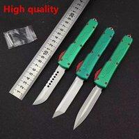 Haute! Automatique Microtech Ultratech Bounty Hunter couteaux automatiques UT85 UTX85 UTX70 VG10 lame Halo V Couteaux Outdoor outil EDC