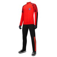 FK Austria Wien Futbol Eşofman Üst Kalite Futbol Triko Eğitim Suit% 100 polyester Ceket Jersey Futbol Eşofman