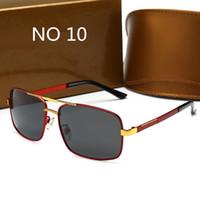 Alta qualidade óculos de sol de luxo uv400 esportes sunglasse para homens e mulheres verão sol óculos ao ar livre bicicleta sol vidro 16 cores
