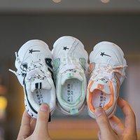 Детская мода обувь 2020 осень Новый Дети Спорт Стиль кроссовки мальчиков дышащие кроссовки девочек Повседневная Продажа Кроссовки Hot