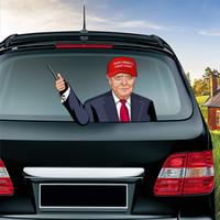 Pára-brisas Biden Etiqueta Trump adesivos de carro americano Eleição presidencial Wiper etiqueta do pára-brisa adesivo Party Supplies 30pcs CCA12499