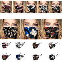 8 styles multi- color fashion face mask dust- proof Anti- fog a...