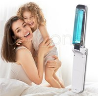 Складная UVC Дезинфекция лампы Портативный UV стерилизатор ультрафиолетовый свет озоно- Бактерицидные свет для Home Hotel Очистка инструментов RA3512