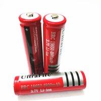 Alta Qualidade 18650 4800mAh 6800mAh 9800mAh 3.7V bateria recarregável de lítio para amplificadores / bateria de vista de fashlight