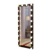 Promotation modernes anpassbare personalisierte Rechteck täglich nach Hause Stil Boden mit Sockel und gerahmte Spiegel steht geführt.