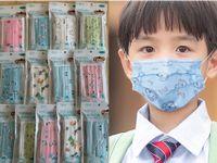 كارتون للأطفال أقنعة كيس 10pcs / مصمم قناع الوجه وجه الطفل أزياء قناع أطفال 3 طبقات يعاد قناع طفل واقية الفم سفينة 1D