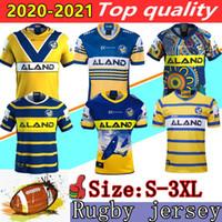 2020 Nova Parramatta Enguias Anzac Comemorativa Edição Rugby Jersey 19 20 21 Parramatta enguias camisa de jersey Austrália Nrl Rugby League jerseys