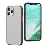 caixa do telefone para o iPhone de 8 mais if 2020 pele fosco à prova de choque PC TPU para o iPhone 11 12 pro tampa traseira max