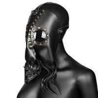 Steampunk meccanica maschera scura Octopus Medico della Peste Uccello Maschera Retro Cosplay Maschere costume di Halloween Props JK2009XB