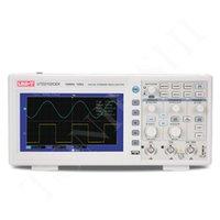 Original UNI-TUTD2025CL osciloscopio de almacenamiento digital de 2 canales de 25 MHz 250MS / s de frecuencia de muestreo del osciloscopio 7''TFT LCD SCOPEMETER