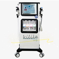 bubble facial whitening machine 7 in 1 CO2 BIO RF Oxygen Spr...