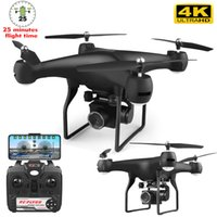 RC Drone с HD-камерой Пульт дистанционного управления Axis UAV 4K HD Pixel Aerial Drone Aircraft Life Fall Toy Aosst