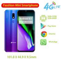 """Ktouch 3.5"""" Handys 3G + 32GB entriegelte chinesische Telefon 4G LTE WCDMA GSM-GPS-WIFI Face ID Fingerabdruck türkischen Modemarken Mini Smartphones"""