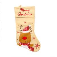 جوارب عيد الميلاد الحلوى كيس الهدايا شجرة عيد الميلاد شنقا قلادة ميلاد سعيد عيد الميلاد الديكور حزب الرئيسية الحلي الإبداعية هدية YYA383