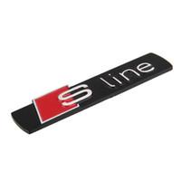 Carrosserie 3D Trunk Sticker Fender Emblem Sticker Decal Pour Sline